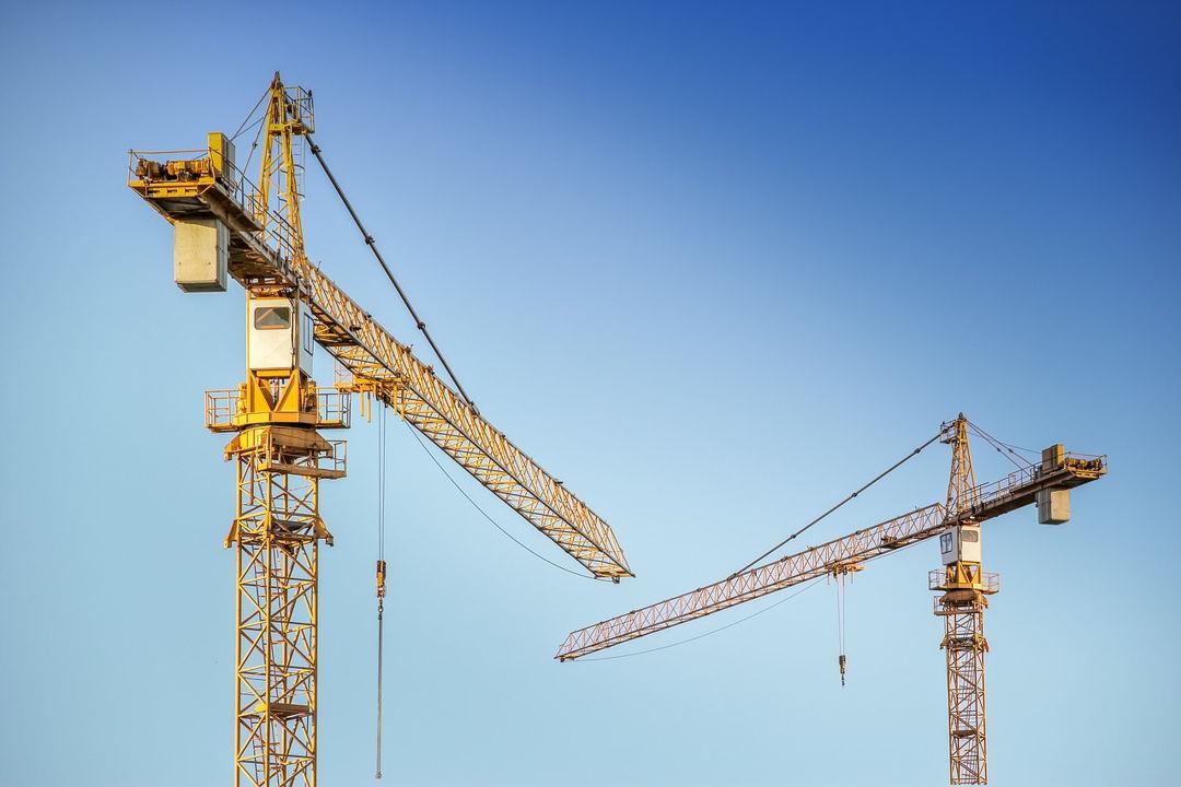 crane pembangunan gedung