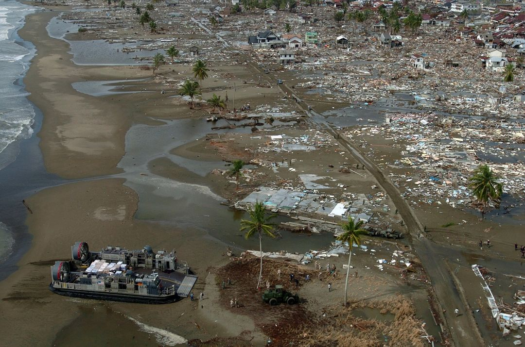 dampak bencana tsunami
