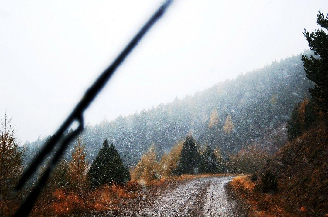 hujan salju