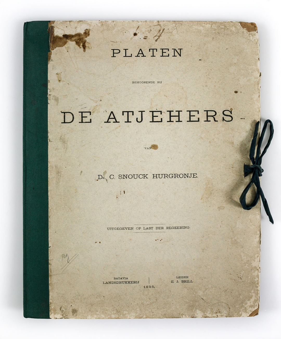 De Atjehers - Dr Snouck Hurgronje