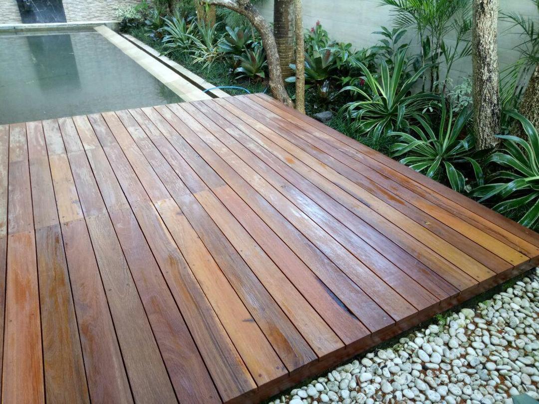 kayu ulin untuk lantai
