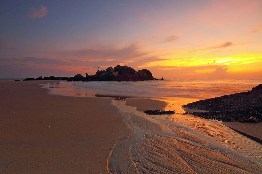 sunrise pantai