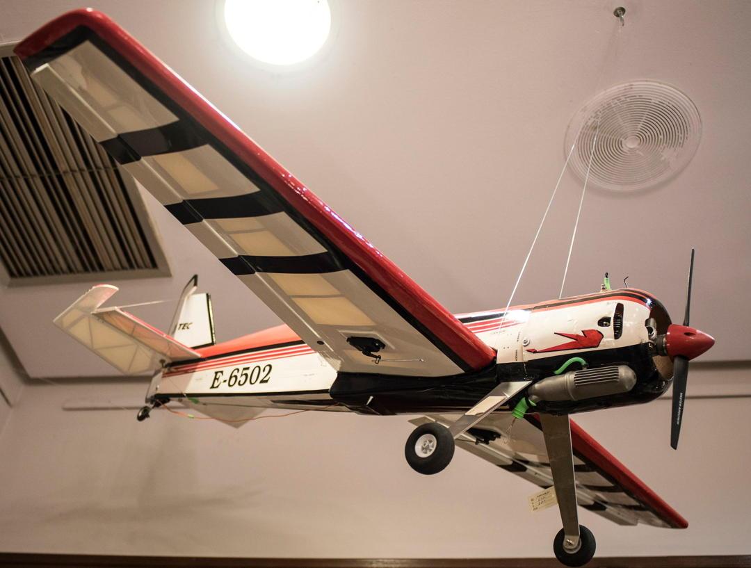 aeromodelling dari kayu balsa
