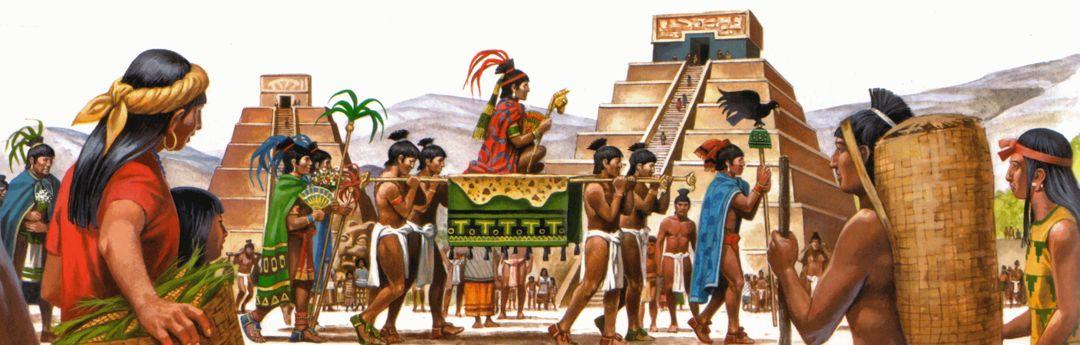 gambaran suku aztec