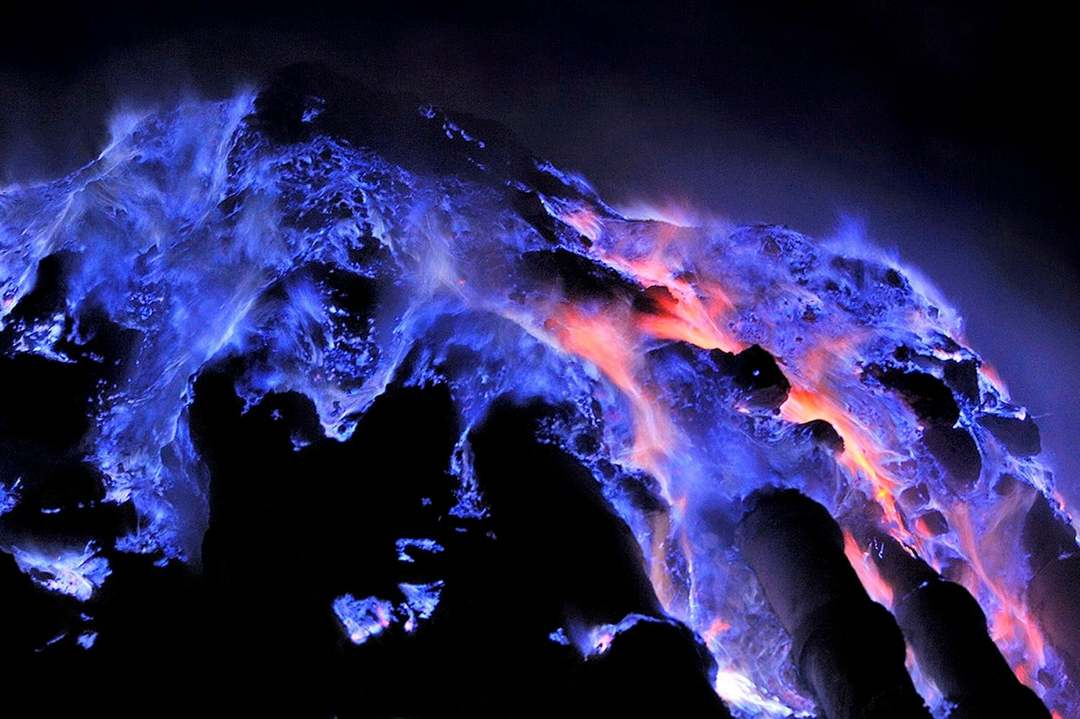 blue fire ijen