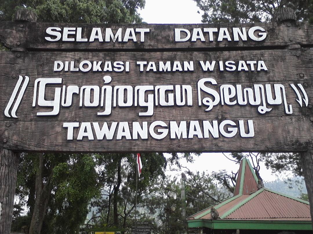 taman wisata grojogan sewu