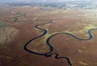 bentuk aliran sungai