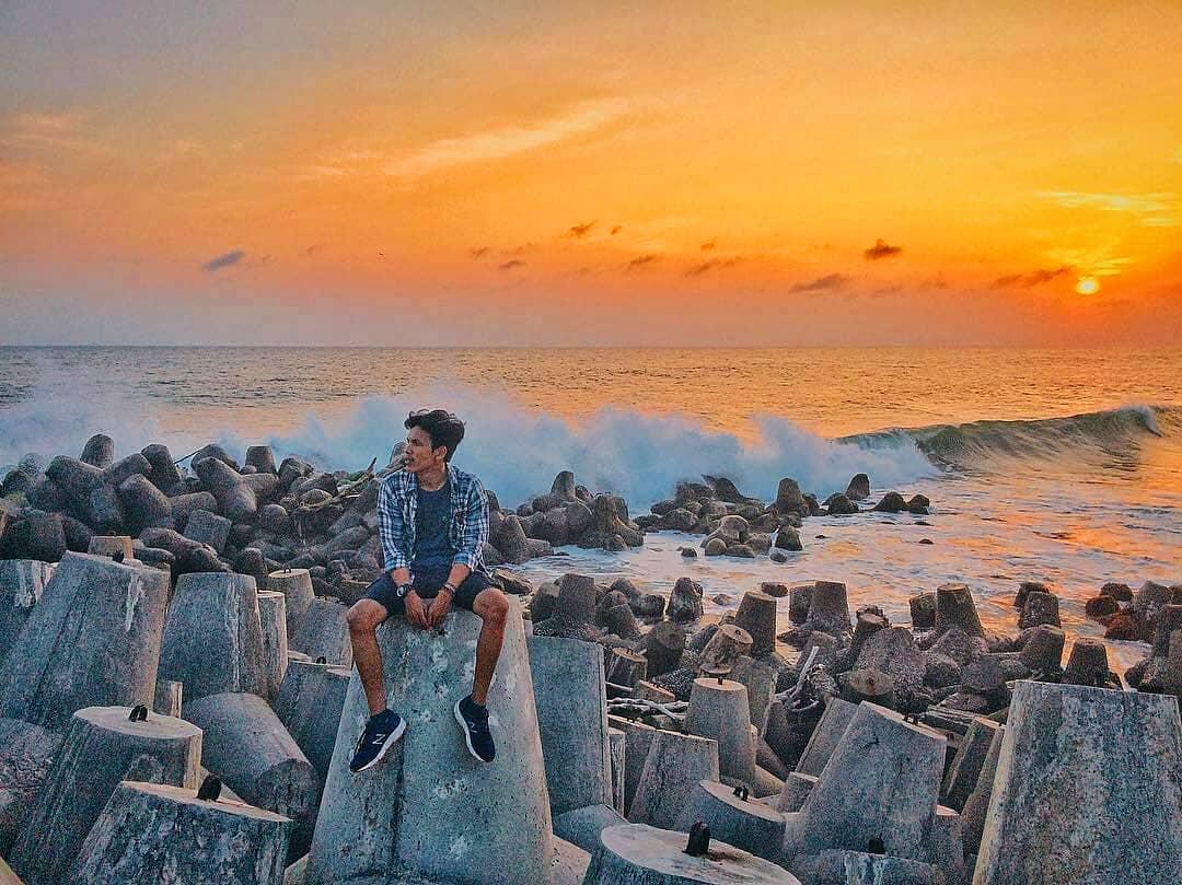 Pantai Glagah Rute Lokasi Daya Tarik Wisata Harga Tiket Fasilitas