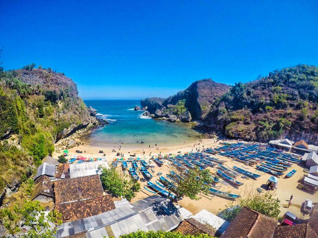 Pantai Ngrenehan Lokasi Rute Dan Keindahan Obyek Wisata