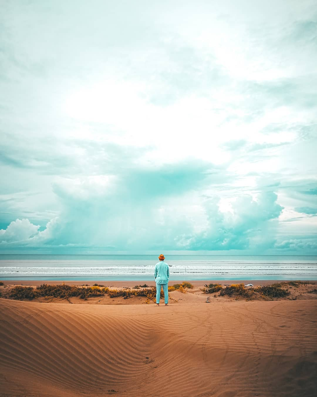 pantai oetune gurun pasir